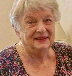GLORIA JOAN MAYO, 91,  dECEMBER 24, 1928 – JUNE 15, 2020